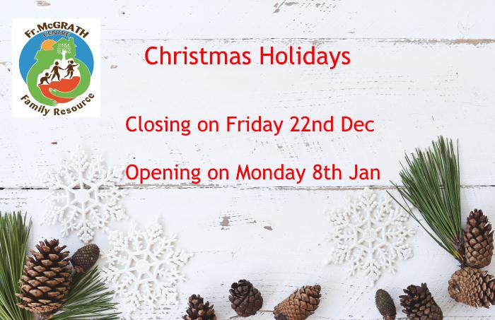 Christmas holiday dates